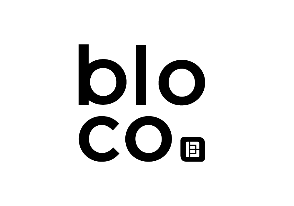 icone logotipo da empresa bloco inovação imobiliária