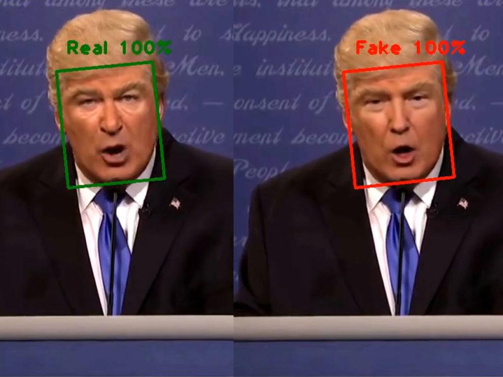 Deep Fake com Presidente Trump